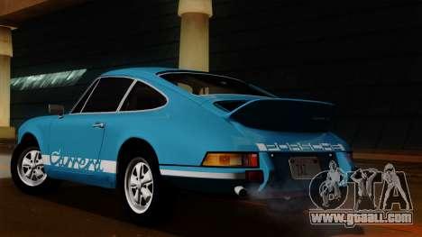 Porsche 911 Carrera RS 2.7 Sport (911) 1972 HQLM for GTA San Andreas back view