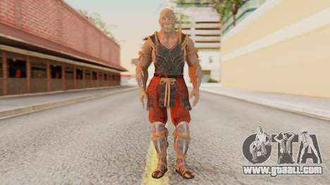 [MKX] Baraka for GTA San Andreas second screenshot