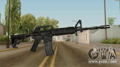 Original HD M4 for GTA San Andreas
