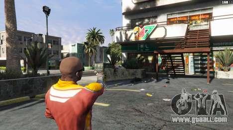 GTA 5 Asiimov Pistol.50 third screenshot