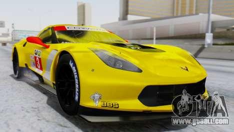 Chevrolet Corvette C7R GTE 2014 PJ1 for GTA San Andreas