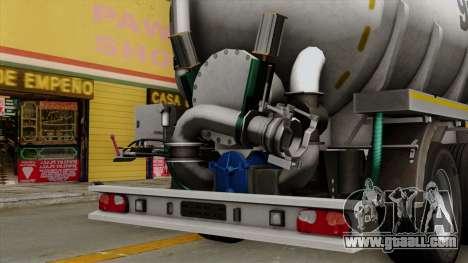 Trailer Kotte Garant for GTA San Andreas right view