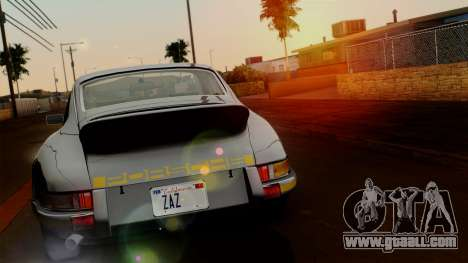 Porsche 911 Carrera RS 2.7 Sport (911) 1972 HQLM for GTA San Andreas back left view