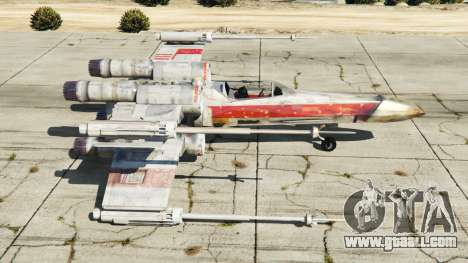 X-wing T-65 v1.1 for GTA 5