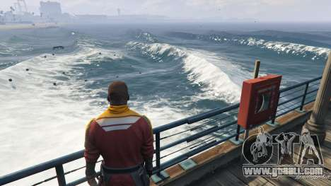 GTA 5 Big waves v1.1