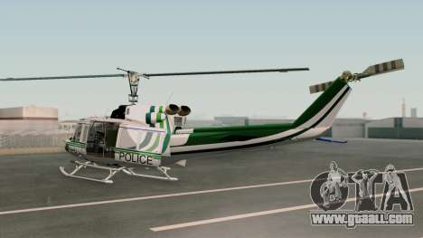 Bell UH-1N NAJA for GTA San Andreas left view