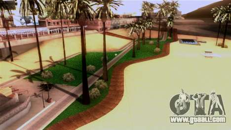 New beach in Los Santos for GTA San Andreas