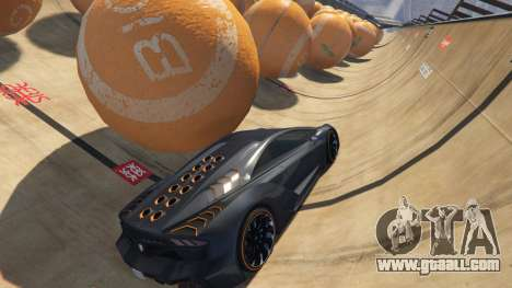 Race the balls v1.2 for GTA 5