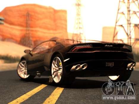 Lime ENB 1.3 for GTA San Andreas