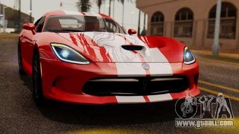 Dodge Viper SRT GTS 2013 IVF (MQ PJ) LQ Dirt for GTA San Andreas right view