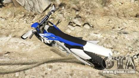 Yamaha YZ 250 v0.1 for GTA 5