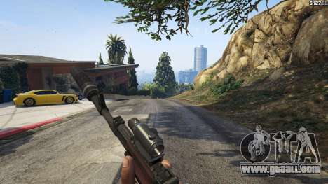 GTA 5 Battlefield 4 AK-12 fourth screenshot
