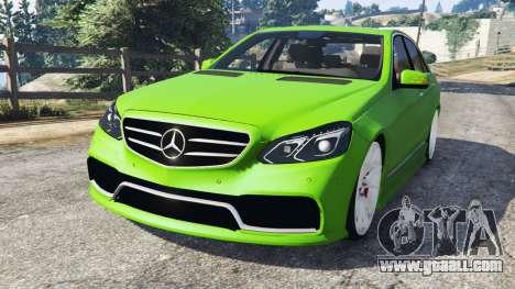 Mercedes-Benz E63 (W212) AMG v1.1 for GTA 5