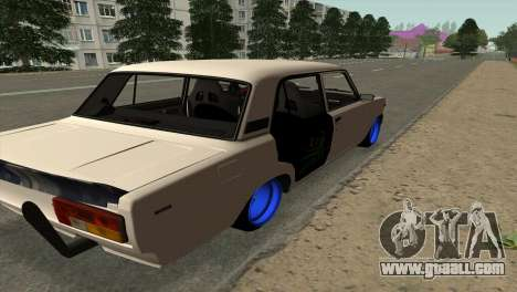VAZ 2105 BC v2.0 for GTA San Andreas back left view