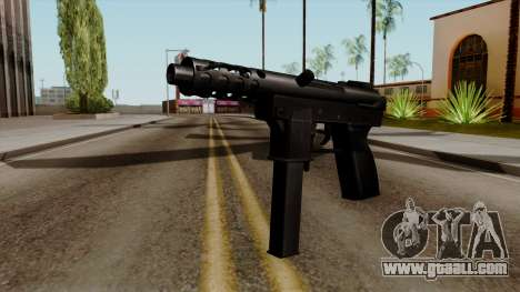 Original HD Tec9 for GTA San Andreas