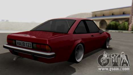 Opel Manta B1 for GTA San Andreas left view