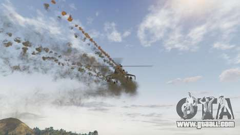 Realistic rocket pod 2.0 for GTA 5