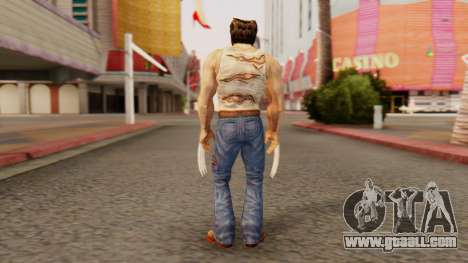 Wolverine v2 for GTA San Andreas third screenshot
