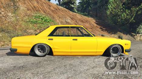GTA 5 Nissan Skyline 2000 GT-R 1970 v0.3 [Beta] left side view