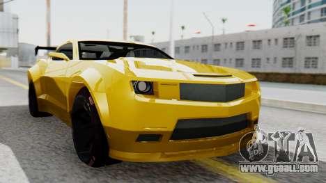 Chevrolet Camaro GT for GTA San Andreas