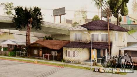 HD Grove Street for GTA San Andreas forth screenshot