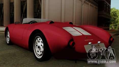 Porsche 550A Spyder 1956 for GTA San Andreas left view