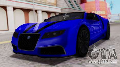 GTA 5 Truffade Adder Convertible for GTA San Andreas