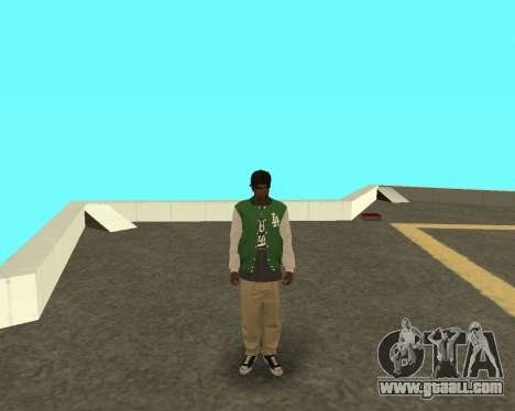 The new kid on the block grove Street for GTA San Andreas