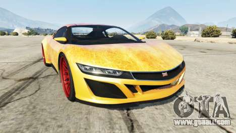 Dinka Jester (Racecar) Fire for GTA 5