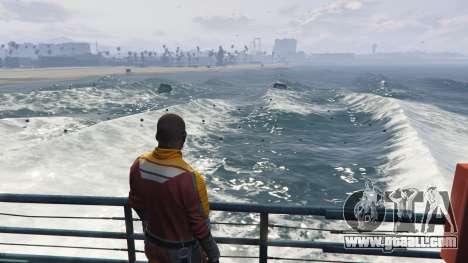 Big waves v1.1 for GTA 5