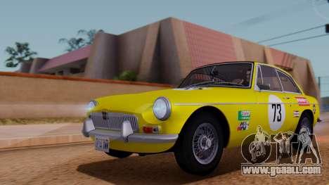 MGB GT (ADO23) 1965 IVF АПП for GTA San Andreas engine