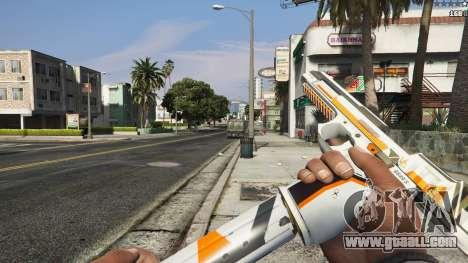 GTA 5 Asiimov Pistol.50 seventh screenshot