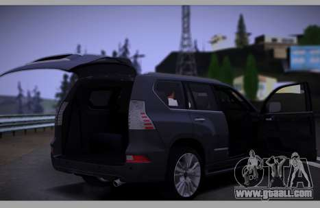 Lexus GX460 2014 for GTA San Andreas upper view