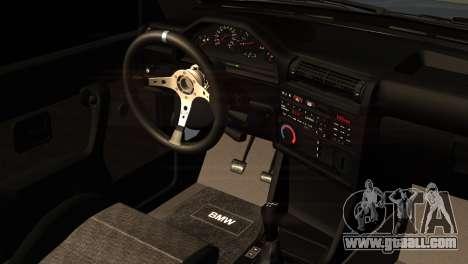 BMW M3 E30 Cabrio for GTA San Andreas right view