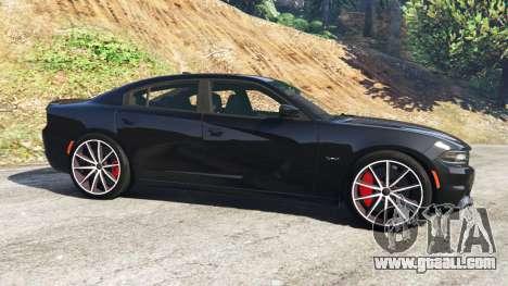 GTA 5 Dodge Charger RT 2015 v0.5 left side view