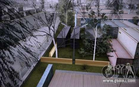 Building on Grove Street v0.1 Beta for GTA San Andreas ninth screenshot