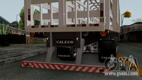 Trailer Rejas Gas for GTA San Andreas right view