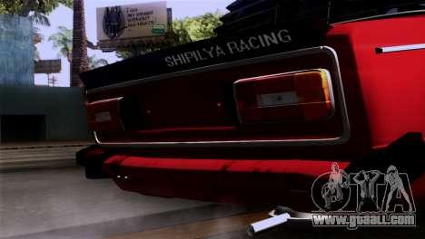 VAZ 2106 BC for GTA San Andreas back view