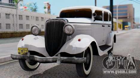 Smith V8 from Mafia 2 for GTA San Andreas