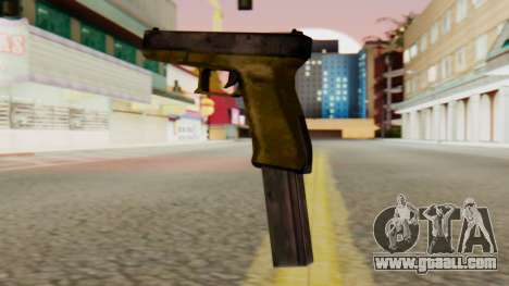 Glock 17 SA Style for GTA San Andreas second screenshot