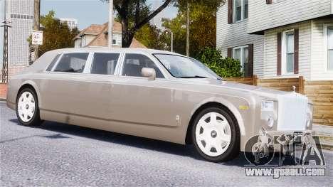 Rolls-Royce Phantom LWB for GTA 4 side view