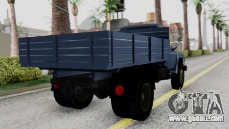 DAC 6135 Facelift for GTA San Andreas left view