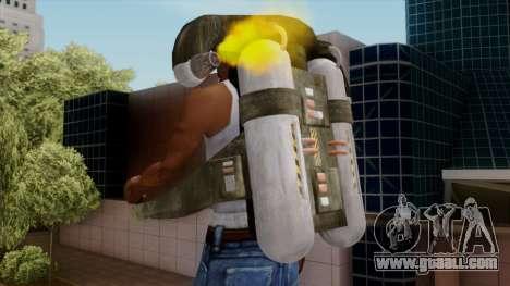 Original HD Jetpack for GTA San Andreas forth screenshot