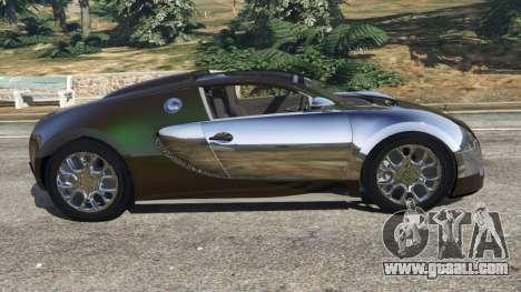 GTA 5 Bugatti Veyron Grand Sport v3.0 left side view