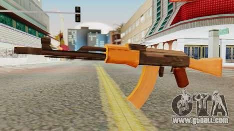 AK-74 SA Style for GTA San Andreas