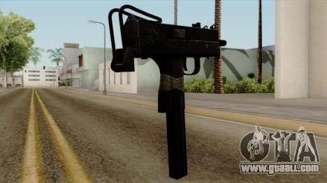 Original HD Micro SMG for GTA San Andreas second screenshot
