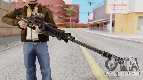 Sniper Rifle 8x Scope for GTA San Andreas second screenshot