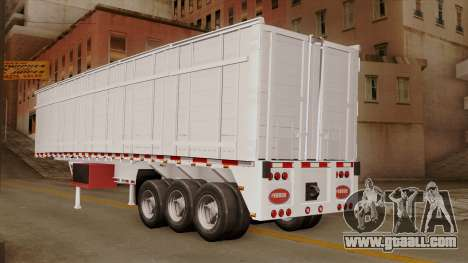 Opentop Trailer for GTA San Andreas left view