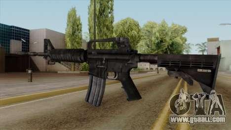Original HD M4 for GTA San Andreas second screenshot