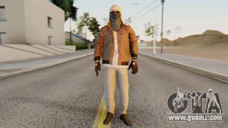 [BF Hardline] Gang Enforcer for GTA San Andreas second screenshot